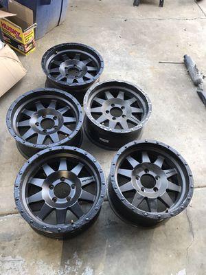 """5 Jeep jku method race wheels 17"""" for Sale in Patterson, CA"""
