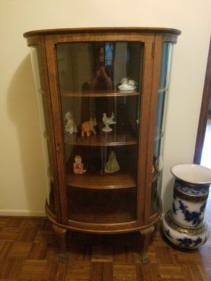 Antique glass curio for Sale in Coral Gables, FL