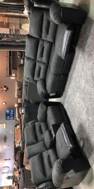 🍃Black Friday Sale‼️🆕[SPECIAL] Earhart Slate Reclining Living Room Set for Sale in Columbia, MD