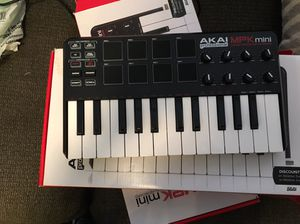 AKAI MPK Mini Keyboard and Drum controller for Sale in Charlotte, NC