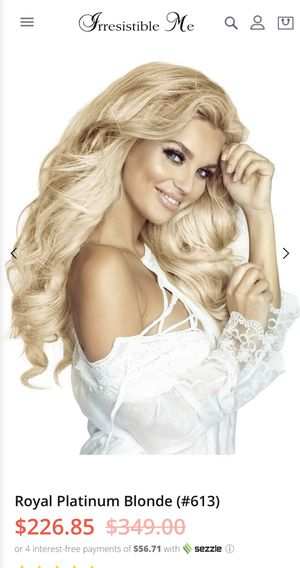 100% human hair clip in extensions for Sale in Murrieta, CA