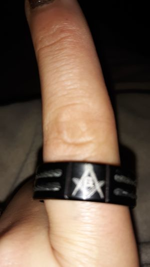 Brand new size 9 freemason ring for Sale in Beavertown, PA