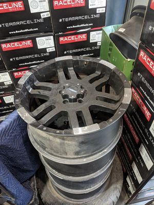 Jeep jk 20 inch wheels for Sale in West Puente Valley, CA