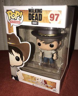 Funko POP The Walking Dead Carl (Damaged box) for Sale in El Paso, TX