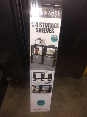 Brand storage shelves**$20 for Sale in North Highlands, CA