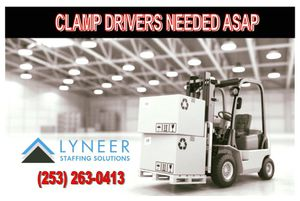 Forklift Driver Position for Sale in Auburn, WA
