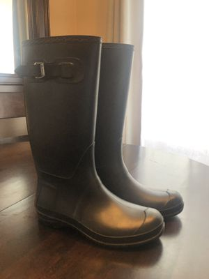 Black kamik rain boots size 10 for Sale in Spokane, WA