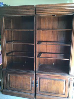 Solid wood bookshelves for Sale in Mesa, AZ