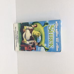 Shrek VHS 2001 Special edition for Sale in Cleveland, TX
