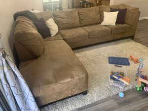 Sectional Couch and Chair for Sale in Waddell, AZ