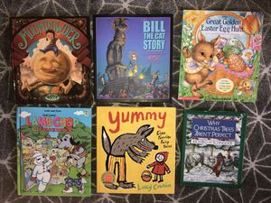 Six new and like new children's books for Sale in San Francisco, CA