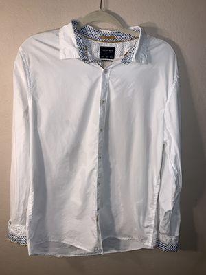 White long sleeve men's dress shirt for Sale in Fort Worth, TX