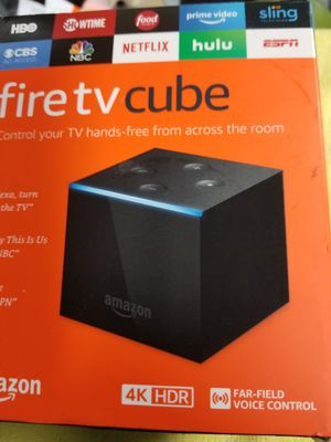 Fire TV cube text me for more info for Sale in Cleveland, OH