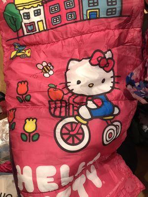 HELLO KITTY SLEEPING BAG kids for Sale in Los Angeles, CA