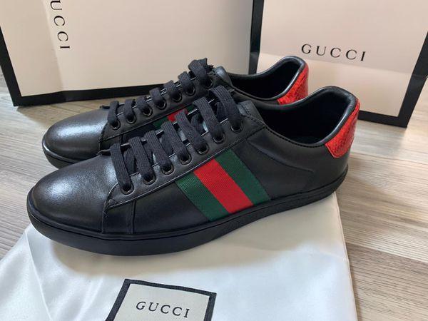 Gg black signature sneakers