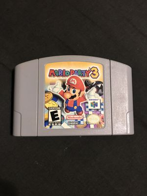Awesome Mario Party 3 Nintendo 64 Mint Condition for Sale in Grape Creek, TX