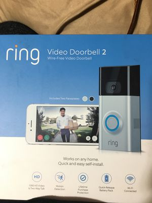 Ring video doorbell 2 for Sale in Union City, CA