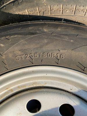 4 llantas de traila de ocho ollos/ 4 tire for a trailer for Sale in Buda, TX