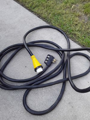 50amp power cord 30feet new condition for Sale in Seffner, FL