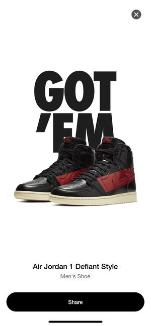 DS Nike Air Jordan 1 OG Couture Size : 11 $150 Cash Firm Only! No Trades! for Sale in Phoenix, AZ