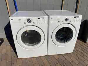 LG Washer and GAS Dryer for Sale in Mesa, AZ