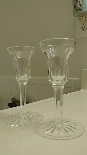 Waterford Crystal Candleholders for Sale in Alexandria, VA
