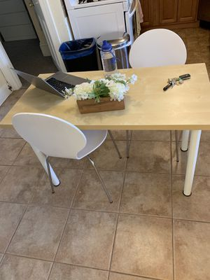 Wooden table (or desk) - great condition! for Sale in Boston, MA
