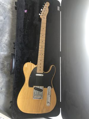 2015 American Fender Telecaster Deluxe Butterscotch Blonde for Sale in Fort Lauderdale, FL