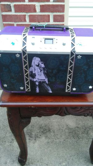 Hannah Montana cd player for Sale in Columbus, OH