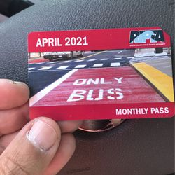 Busspass. unlimited for the month of April for Sale in Providence, RI