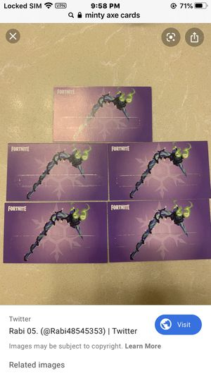 Minty axe codes for Sale in Paducah, KY