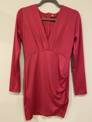Magenta pink bodycon tight formal office dress for Sale in Silver Spring, MD