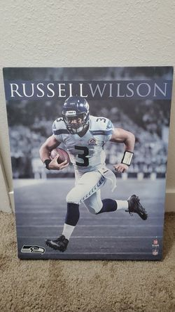 Russel Wilson Canvas Poster for Sale in Milwaukie,  OR