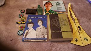 1950s GIRL SCOUT MEMORABILLIA 16 PIECES for Sale in South Bend, IN