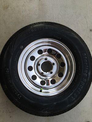 Brand new boat trailer tires and wheels for Sale in Menifee, CA