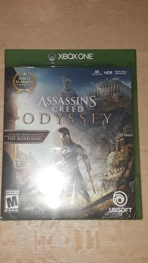 Xbox one assassins creed odyssey for Sale in NO POTOMAC, MD