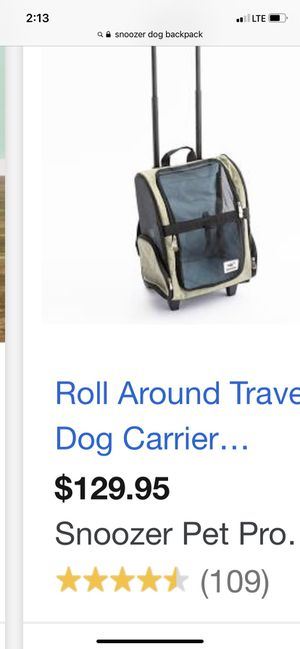 Small dog travel carrier-excellent condition retails for $130 for Sale in Portland, OR