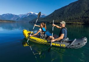 INTEX Explorer k2 inflatable kayak for Sale in Cambridge, IA