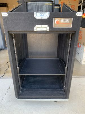 Odyssey DJ, Amp, and Equipment Cabinet for Sale in La Habra Heights, CA