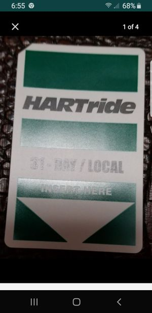 Hartline 31 Day Bus Pass for Sale in Tampa, FL
