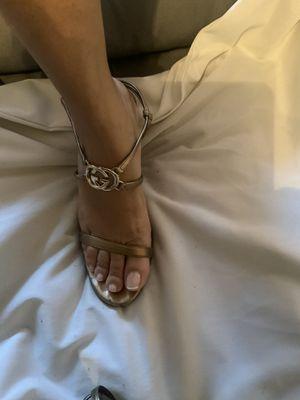 Gucci logo sandals for Sale in Miami, FL