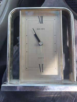Old seiko clock for Sale in Tampa, FL