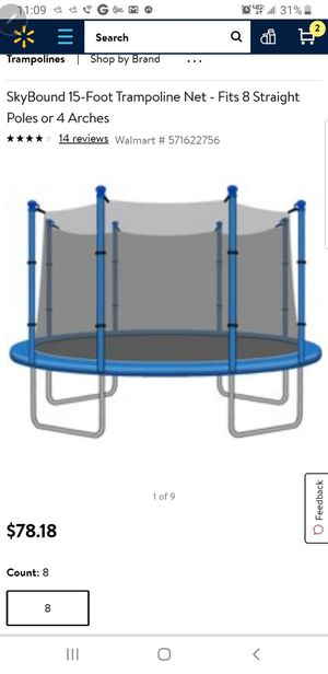 Trampoline NET ONLY for Sale in Phoenix, AZ