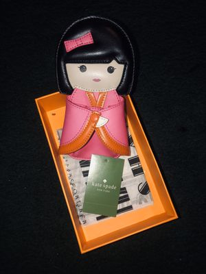 Rare! Kate Spade kimono girl coin purse for Sale in Dearborn, MI