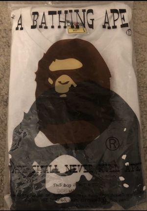BAPE Big Ape Head T-shirt- Size L for Sale in Mercer Island, WA