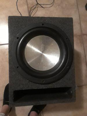 10 in woofer built-in speaker 2500 watt amp attached to it for Sale in Phoenix, AZ