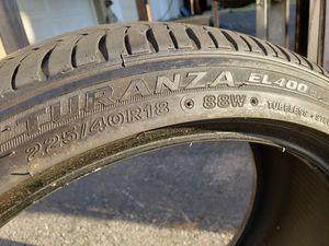 Bridgestone turanza 225/40r18 EL400 88W front tires from a Lexus is for Sale in Allentown, PA