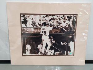 Barry Bonds & Dusty Baker Photo for Sale in San Diego, CA