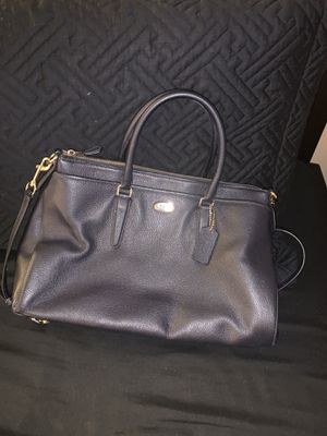 Coach Pebble Leather Satchel (Blue) for Sale in Pico Rivera, CA