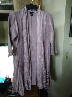 Lilac colored cardigan for Sale in Marysville, WA